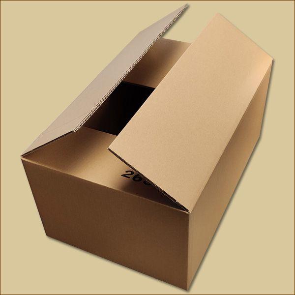 Faltkarton 532 x 346 x 231 mm Versandkarton zweiwellig