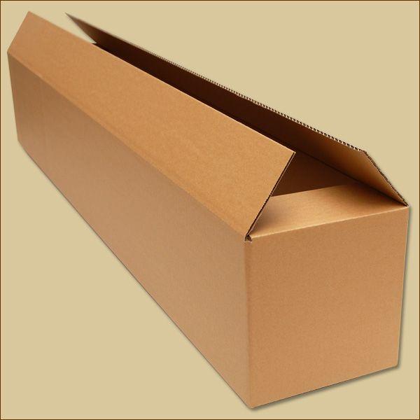 Faltkartons 1190 x 200 x 200 mm Versandkarton einwellig