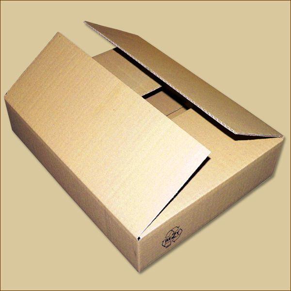 Faltkarton 390 x 300 x 80 mm Versandkarton einwellig