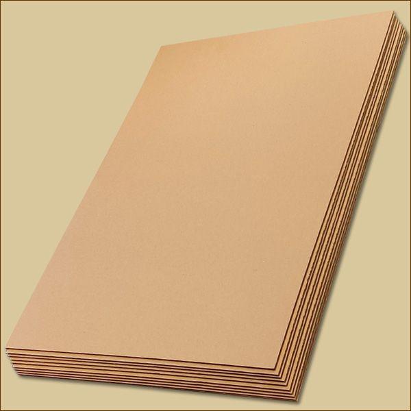 Wellpapp Zuschnitte 594 x 420 mm DIN A2 Formate