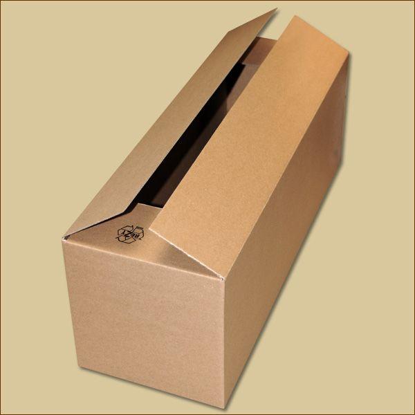 Faltkarton 525 x 175 x 175 mm Versandkarton einwellig