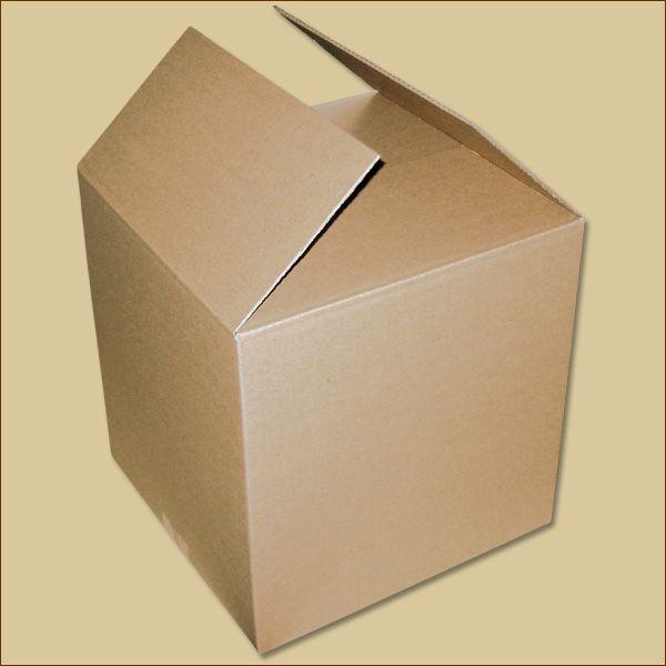 Faltkarton 300 x 300 x 300 mm Versandkarton einwellig