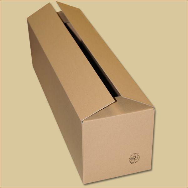 Faltkarton 650 x 175 x 175 mm Versandkarton einwellig