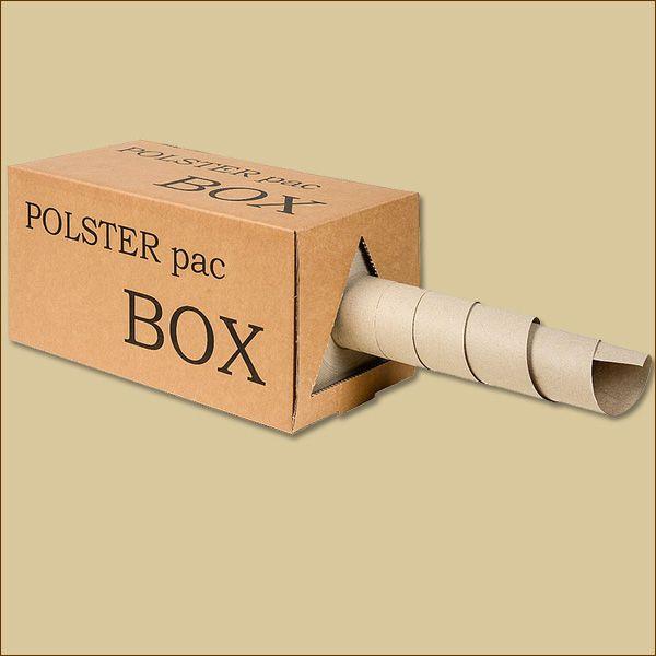 POLSTERPAC BOX Schrenzpapier 375 mm x 200 m 80 g/qm Knüllpapier