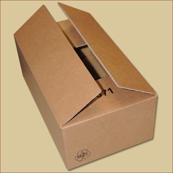 Faltkarton 370 x 225 x 145 mm Versandkarton einwellig