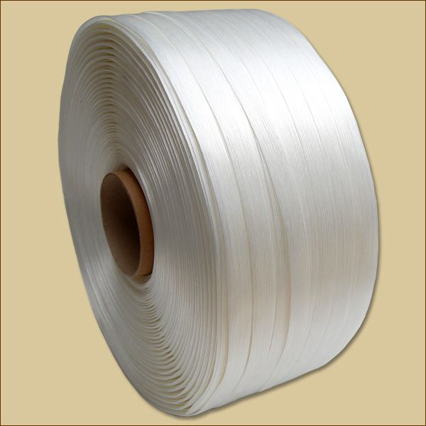 PET-Textil-Umreifungsband weiß 850 m