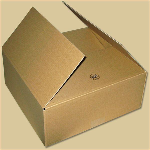 Faltkarton 350 x 350 x 140 mm Versandkarton einwellig