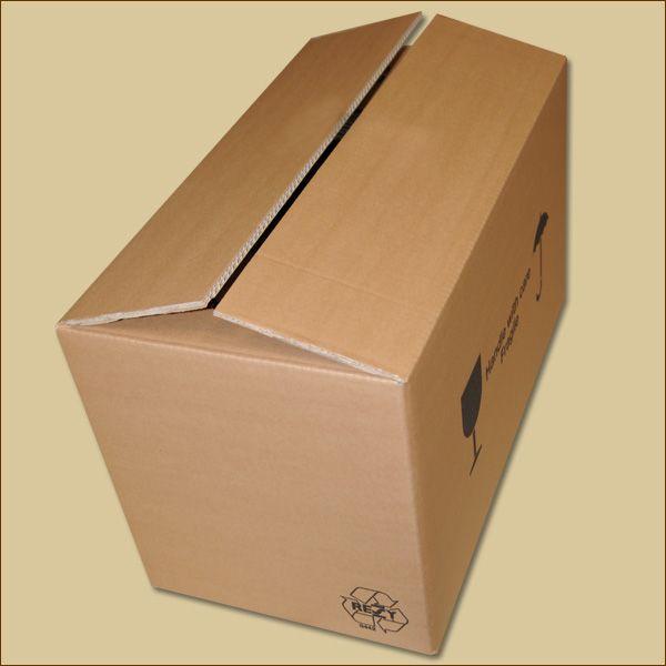 Faltkarton 725 x 415 x 258 mm Versandkarton zweiwellig