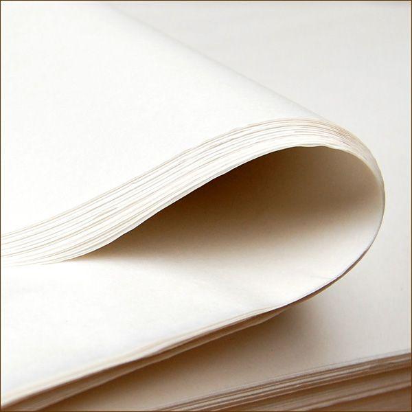 Seidenpapier weiß holzfrei 750 x 500 mm 25 g/qm Juwelierseide