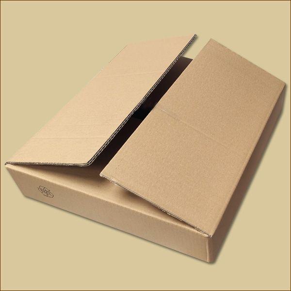 Faltkarton 390 x 350 x 80 mm Versandkarton zweiwellig