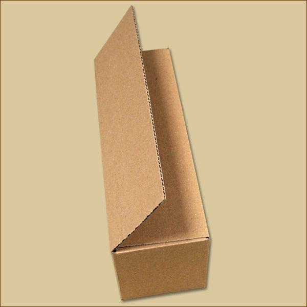 Faltkarton 380 x 120 x 120 mm Versandkarton einwellig