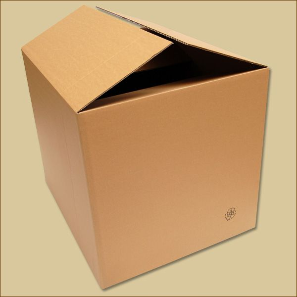 Faltkarton 600 x 500 x 500 mm Versandkarton einwellig