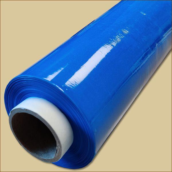Stretchfolie BLAU 500 mm x ca. 236 m - 23 µ Palettenfolie Wickelfolie
