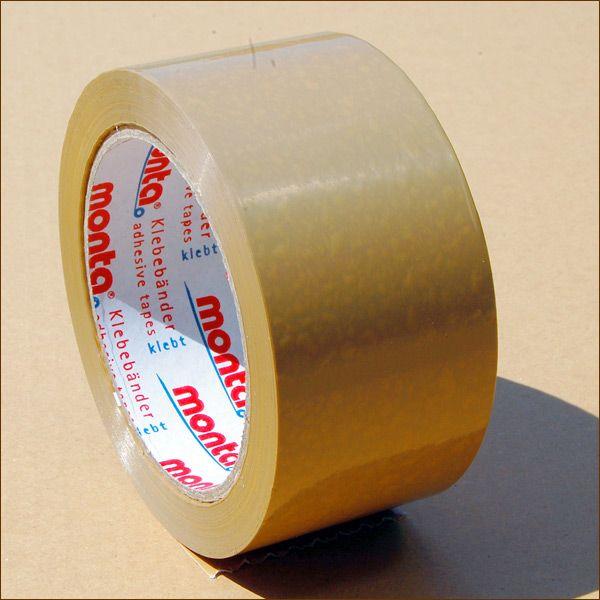 Klebeband Rollen PVC 283 braun Packband